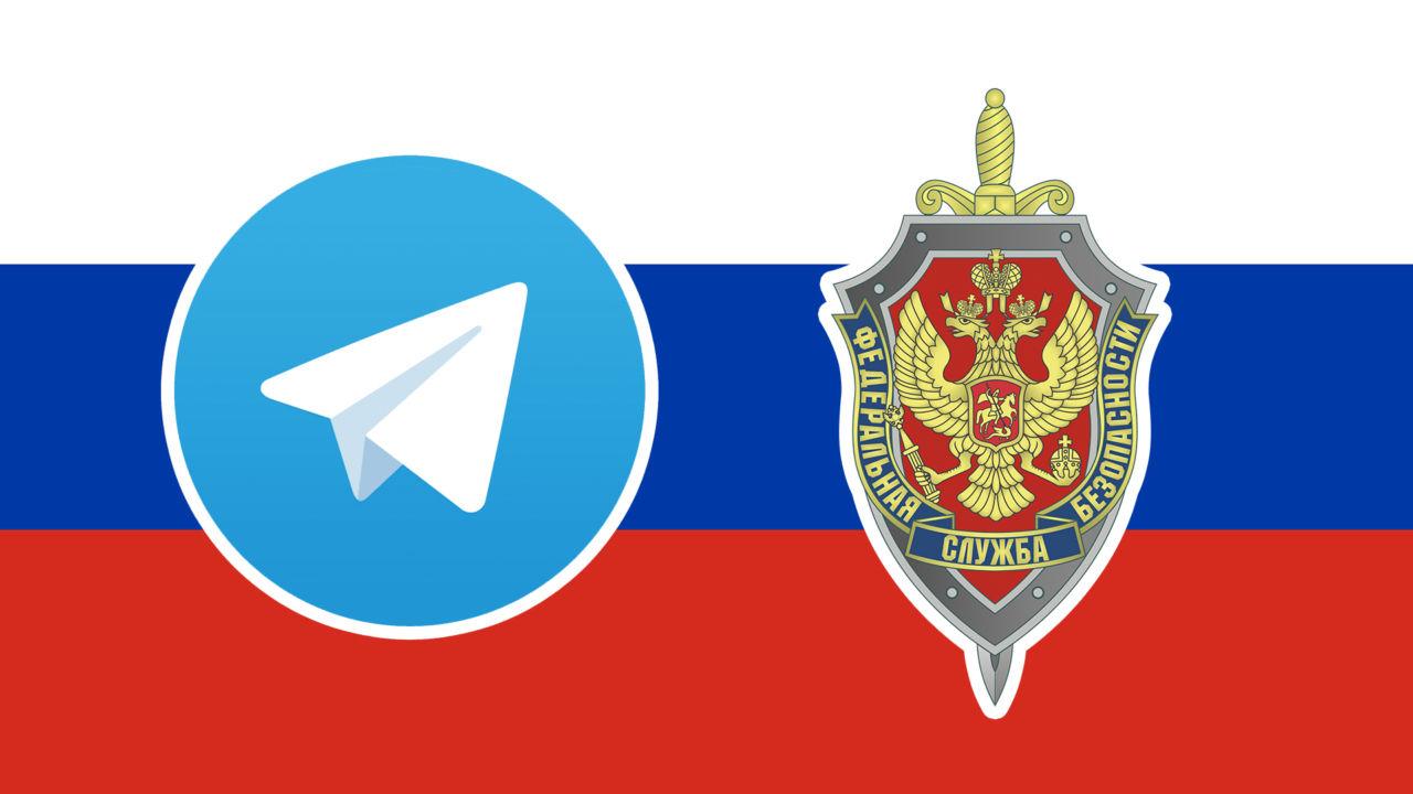 Russland beordrer blokkering av Telegram.
