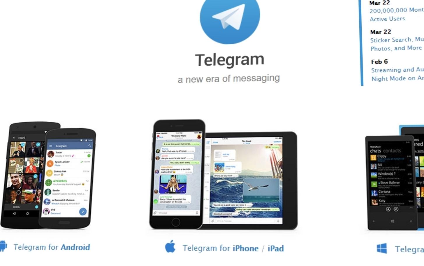 Russland bannlyser Telegram - utviklerne sier oppdatering vil lure dem