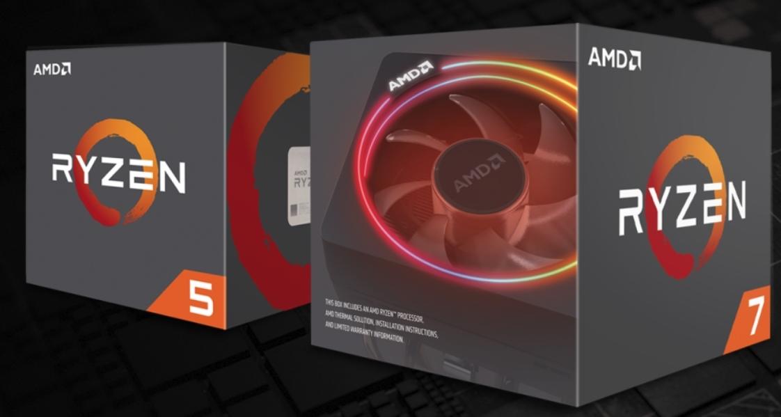 Ryzen 2 knuser Intel Core i7