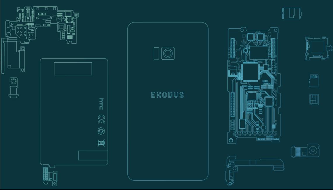 HTC lanserer blokkjedemobil.