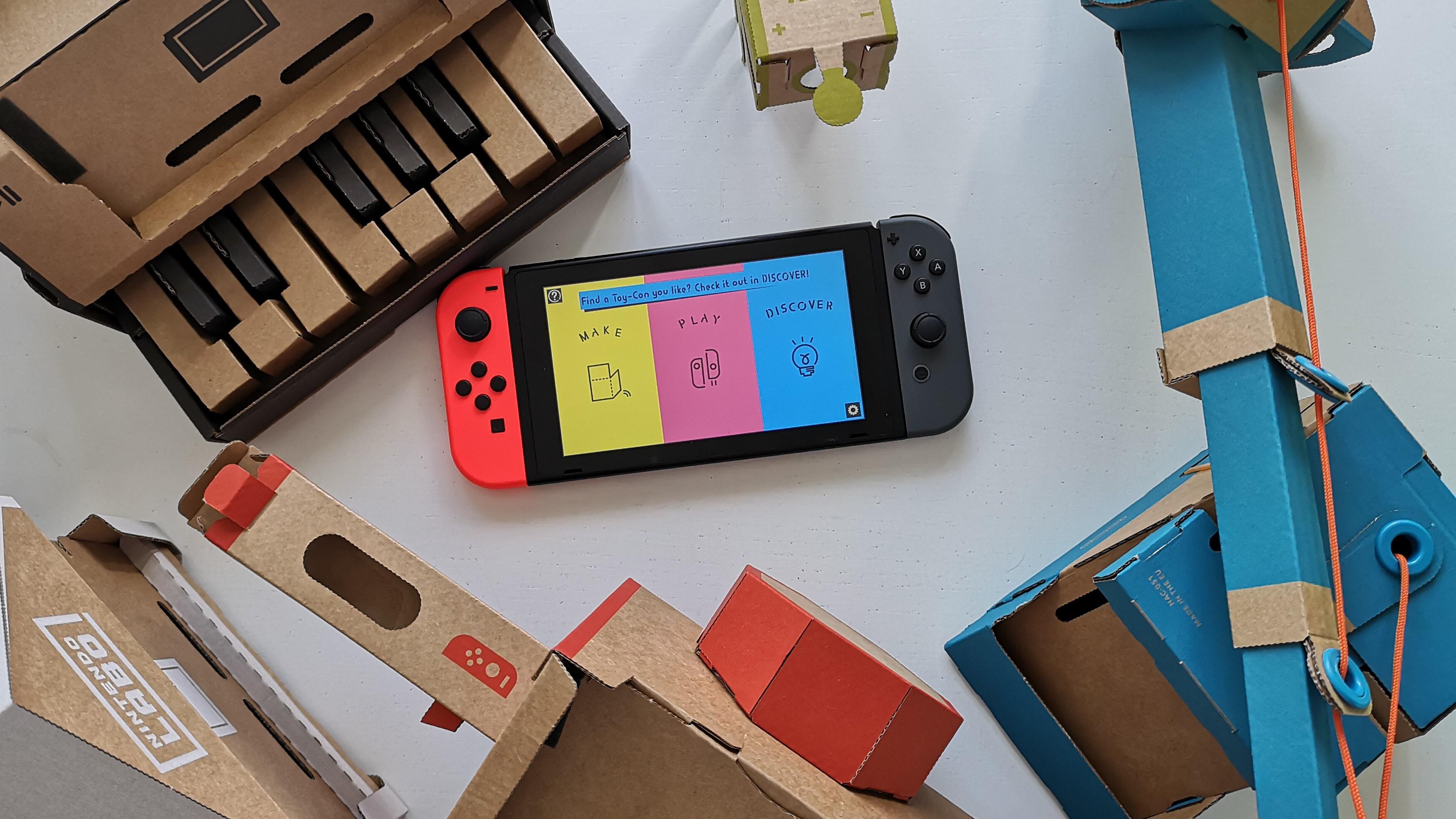 TEST: Nintendo Labo er ganske genialt, men spillgleden er kortvarig.