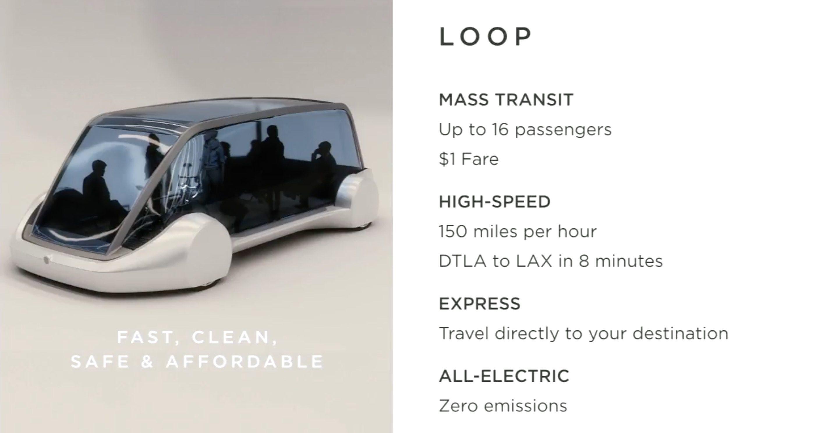 "I fremtiden kan du reise med Elon Musk-""toget"" for en tier."