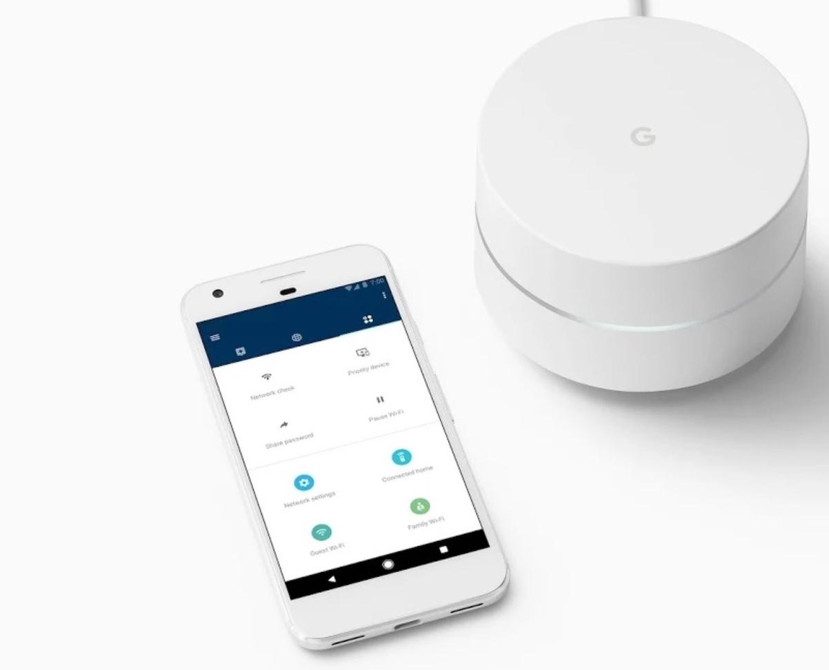 Google WiFi er bygget for mesh- og app-kontroll.
