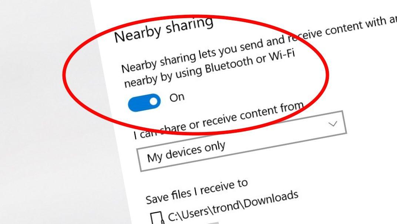 Du har vel aktivert dette? Det er helt konge at Windows 10 støtter iOS og Android på denne måten