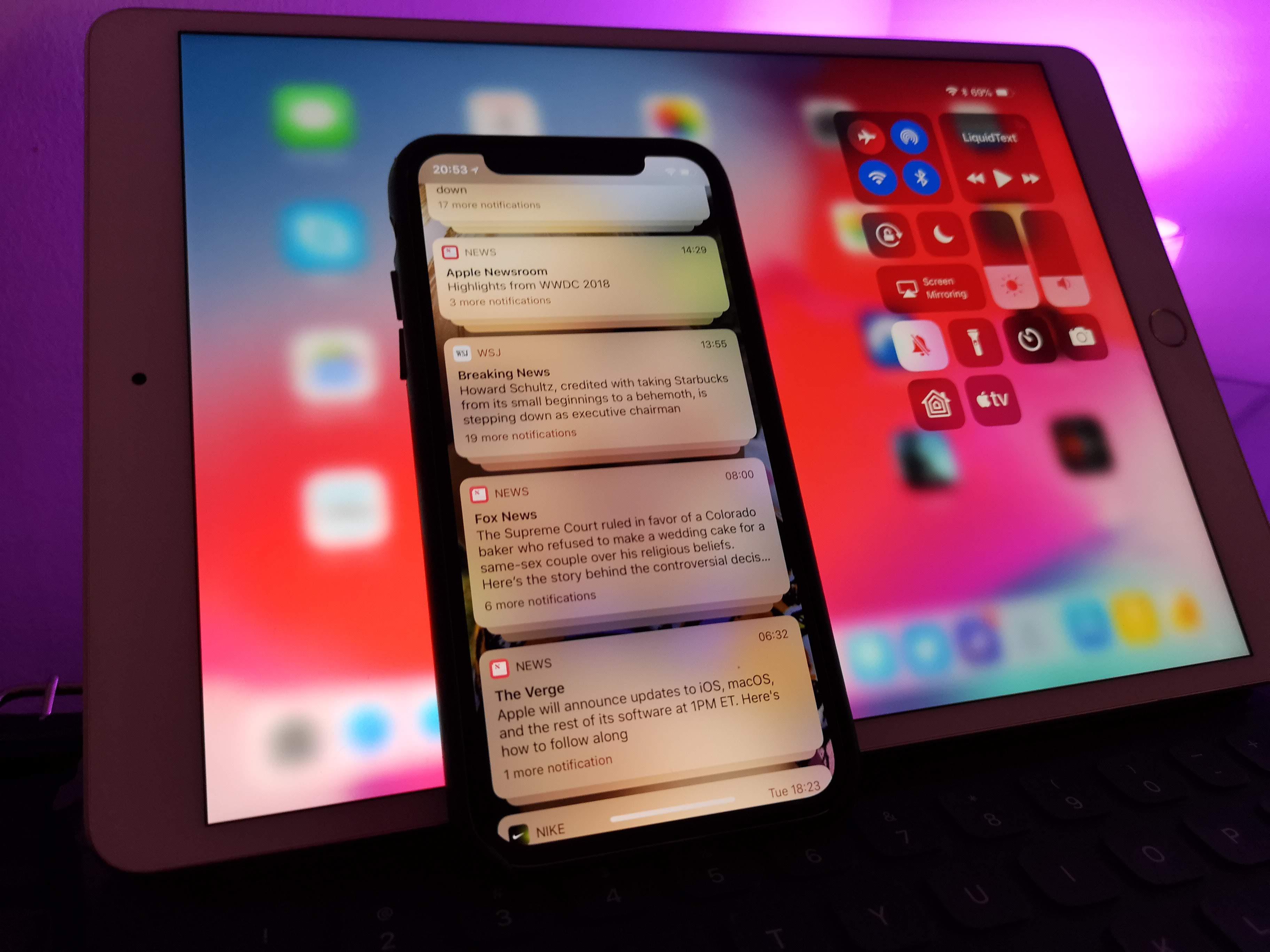 SNIKTITT - iOS 12: gled deg