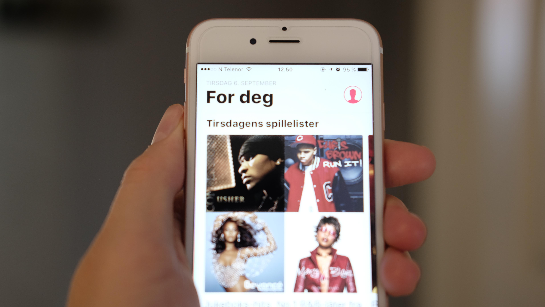 Hevder Apple Music er størst i USA.