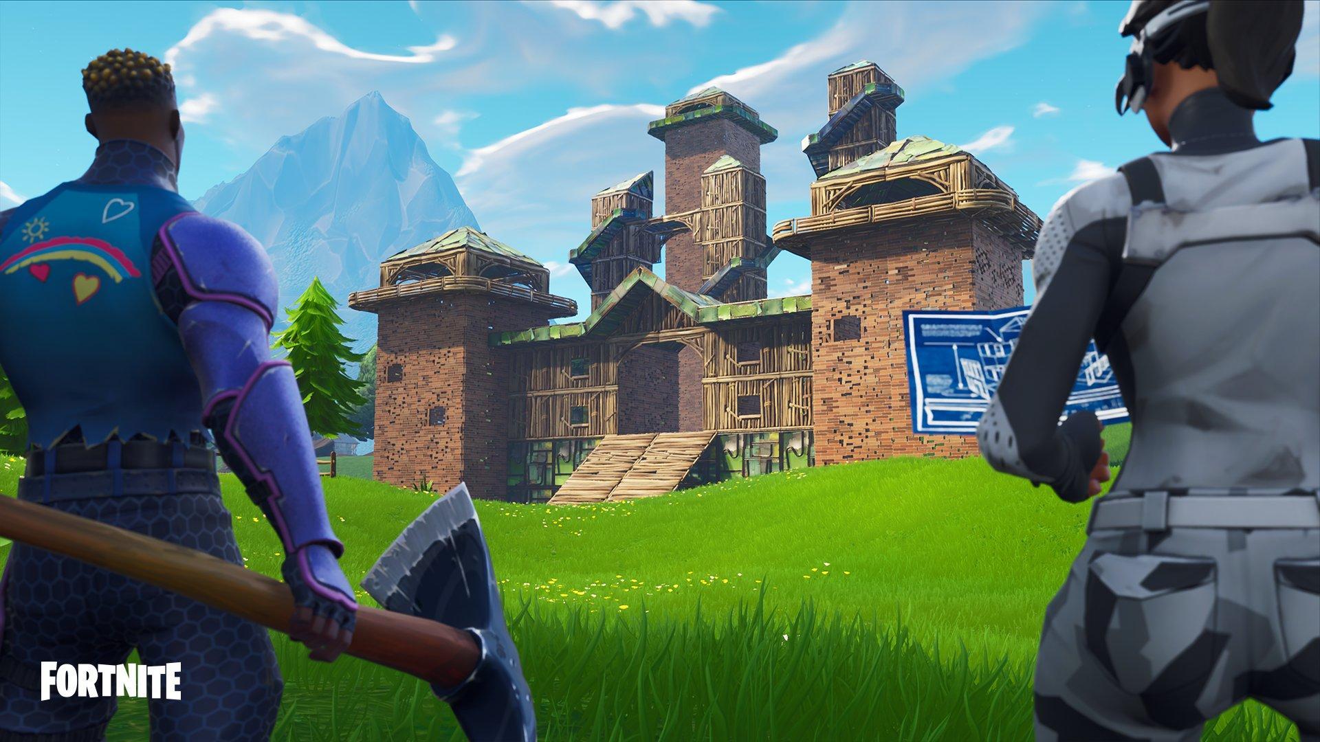 Nå kan du endelig bygge i fred for andre spillere.