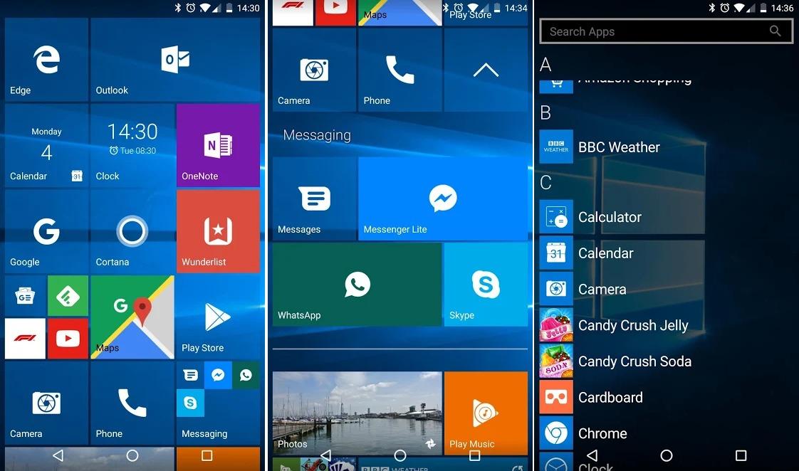 Slik får du Windows Phone-UI på Androiden din.
