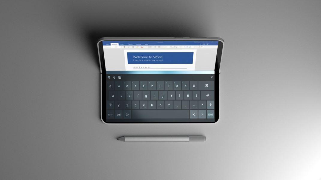 Surface-sjefen hinter til nye typer enheter.