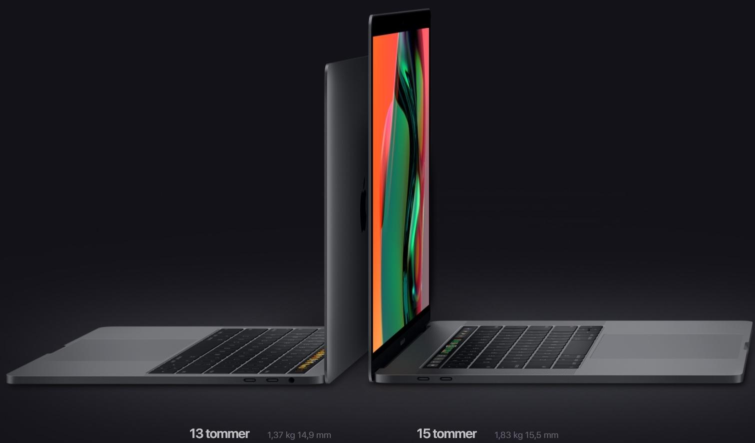 Apple har fjernet denne muligheten i 2018-MacBookene.