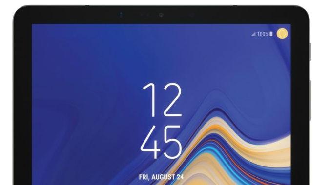 Rendrede bilder av Galaxy Tab S4 har lekket til pressen.