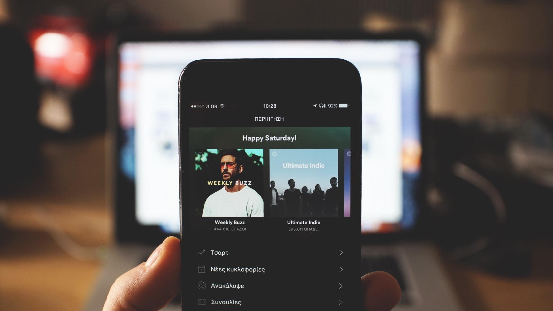 Spotify har over 180 millioner månedlige brukere.