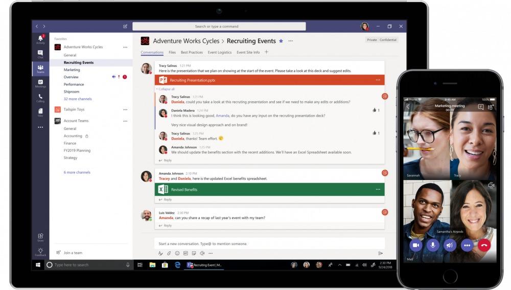 Microsoft Teams blir gratis - hvem som helst kan bruke det.