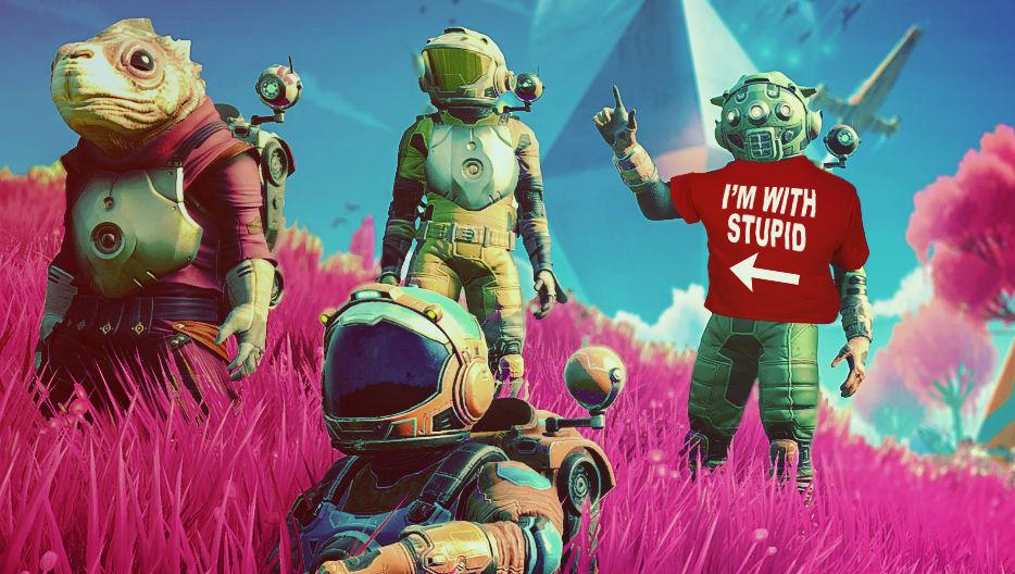 Bli med når disse fire utforsker No Man's Sky Next klokka 20:30