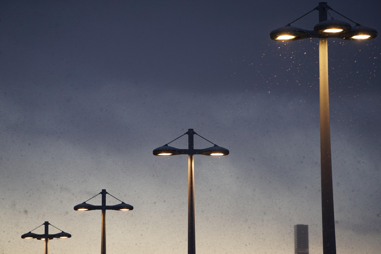 Snart kan disse endre lysstyrke avhengig av om det er trafikk i nærheten eller ikke.