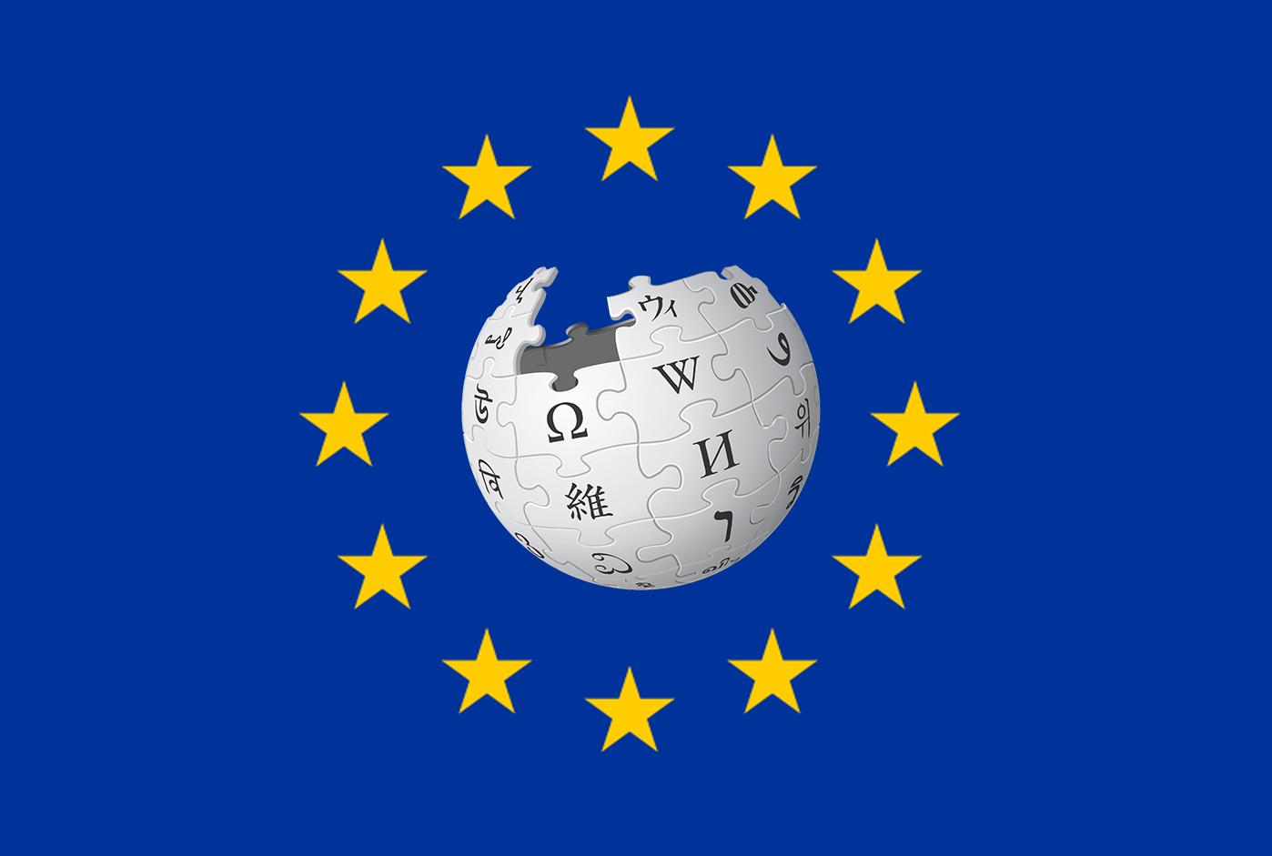 Wikipedia er ikke begeistret for det potensielt kommende EU-direktivet.