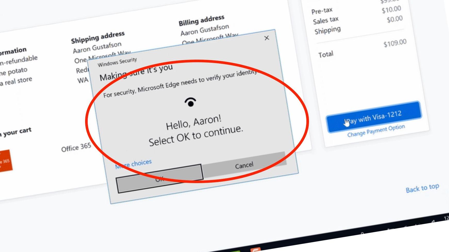Snart er passordmas historie på Windows