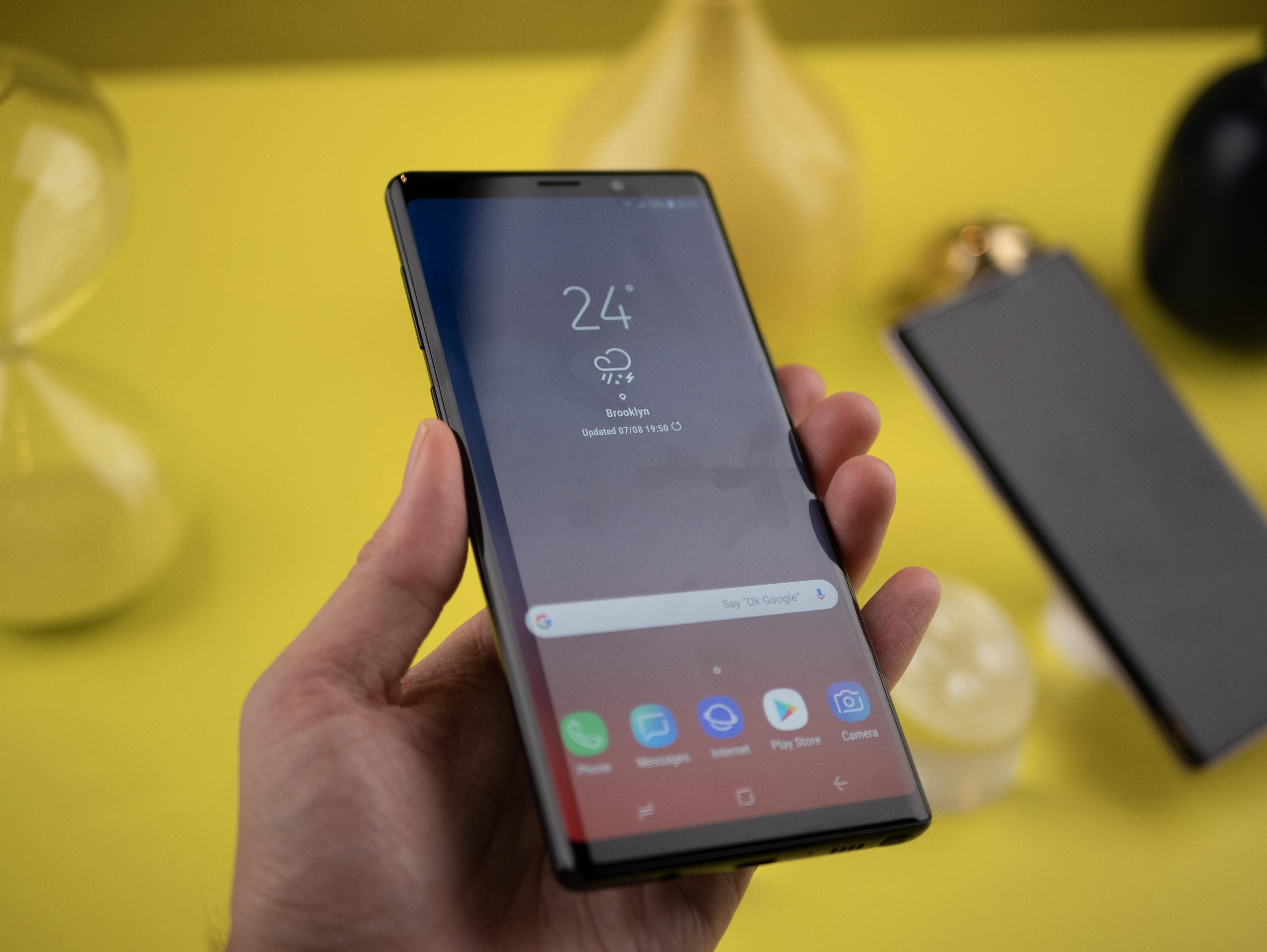 - Galaxy Note 9 har tidenes beste mobilskjerm.