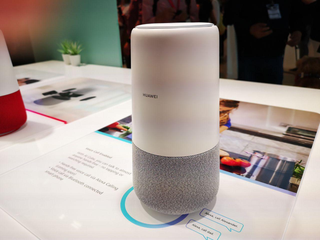 Huaweis første smarthøyttaler har noe konkurrentene ikke har.