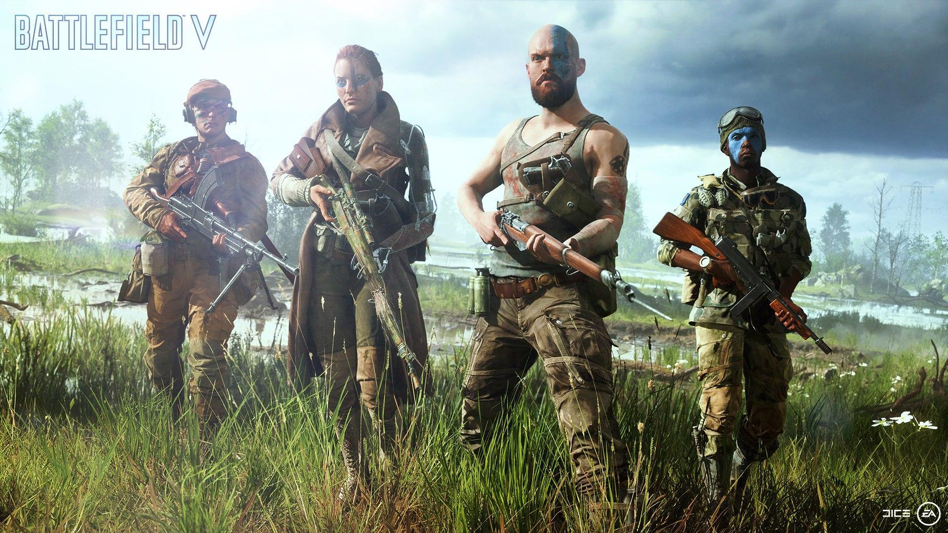 Vi strømmer Battlefield V beta 2