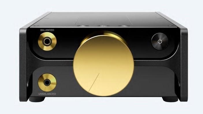 Dette er Sonys gullbelagte musikkspiller til 65 000 kroner.