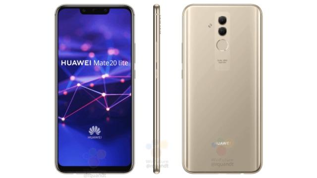 Her er første ordentlige titt på Huawei Mate 20.