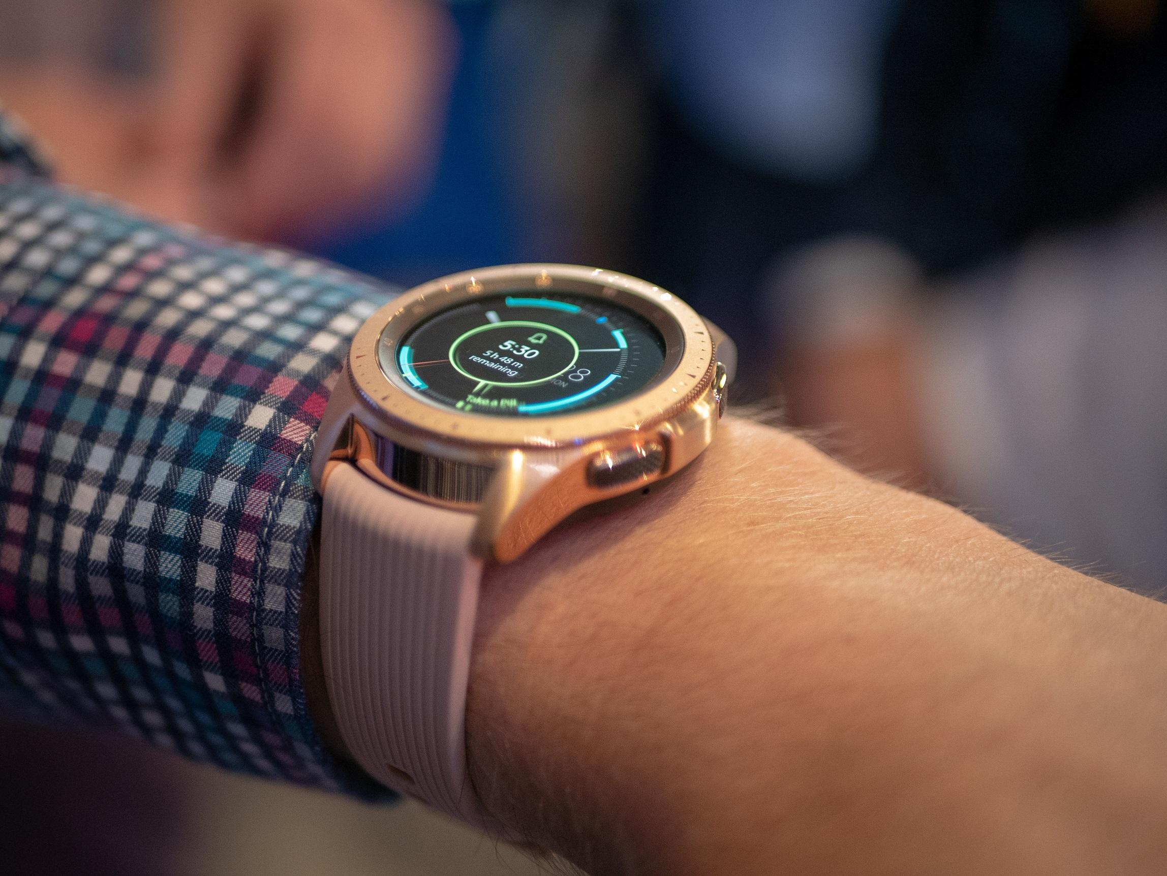 Her er Galaxy Watch.