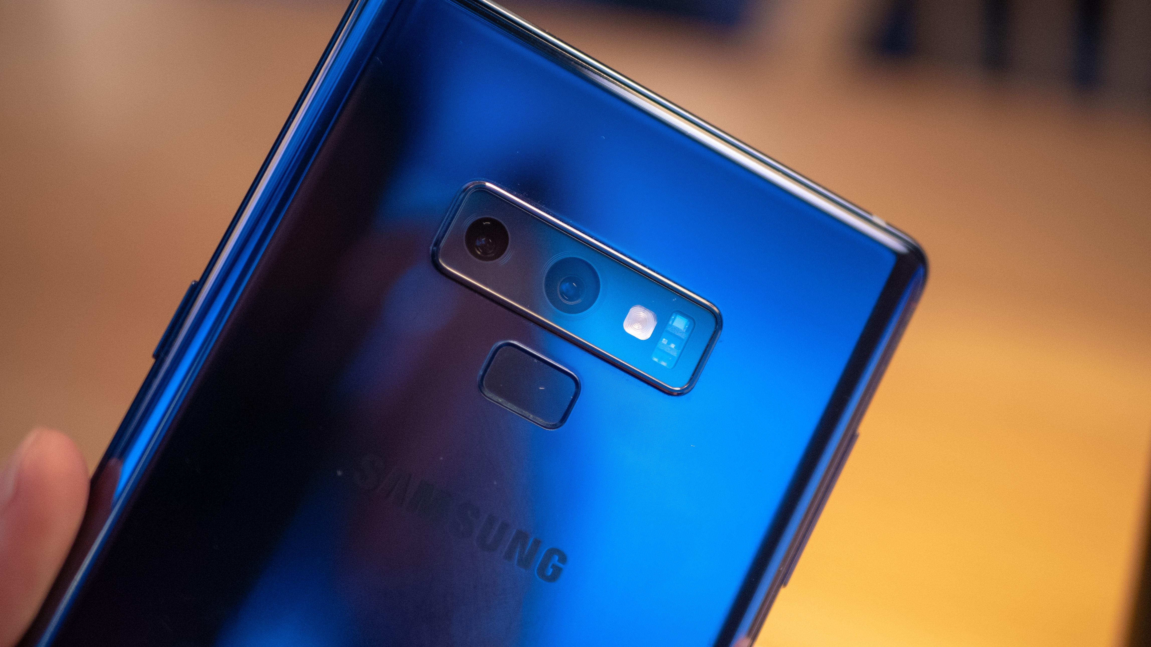 Galaxy Note 9 kan være den siste toppmodellen fra Samsung med dette.