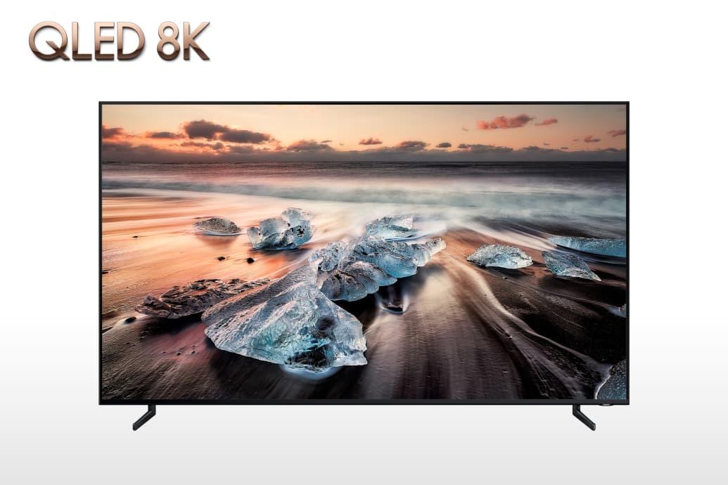 Her er Samsungs lekre QLED-TV med 8K-panel.