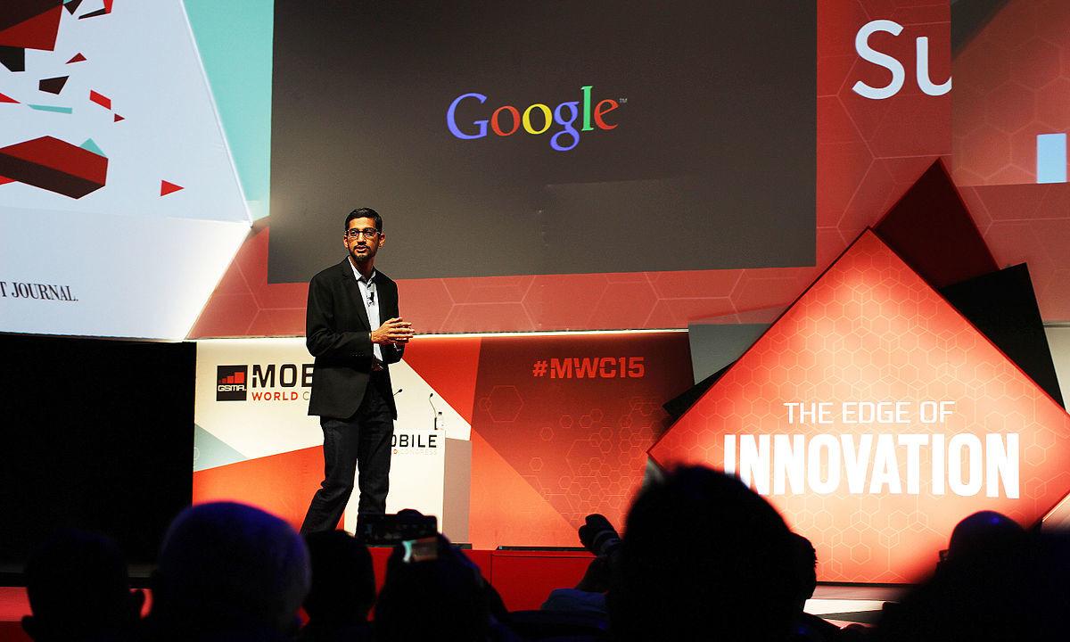 Googles toppsjef slaktes.