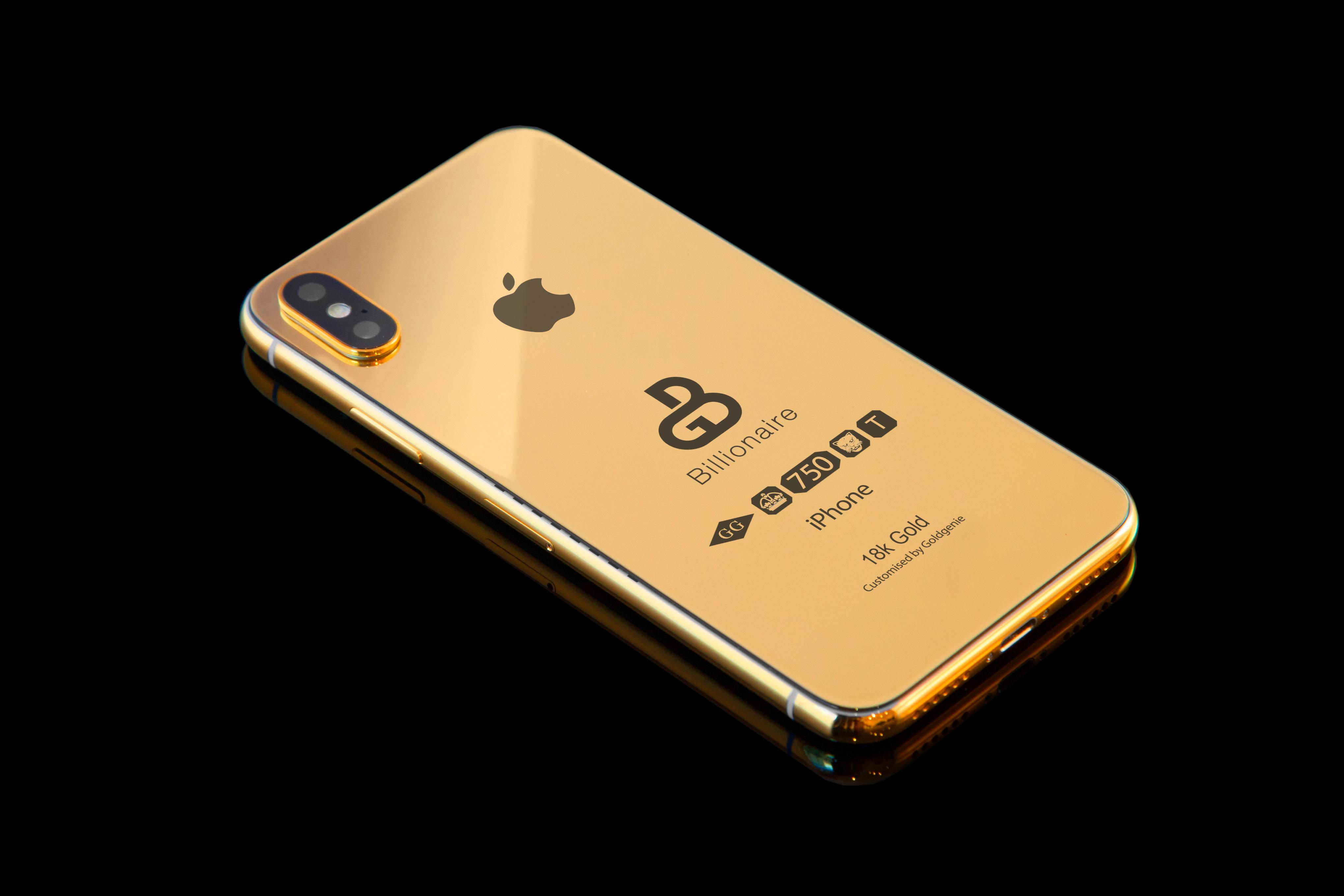 """Her er """"milliardærutgaven"""" av iPhone X."""