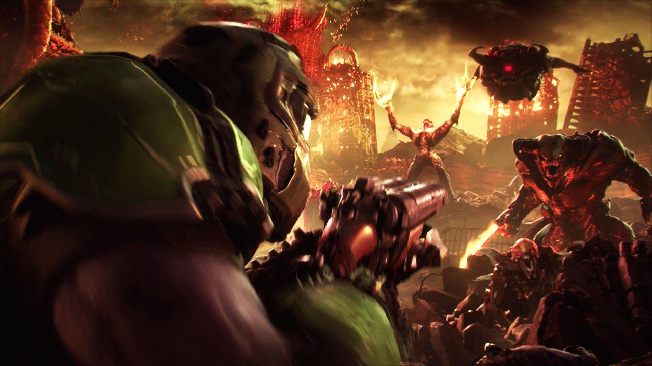 Se haugevis med gameplay fra Doom Eternal