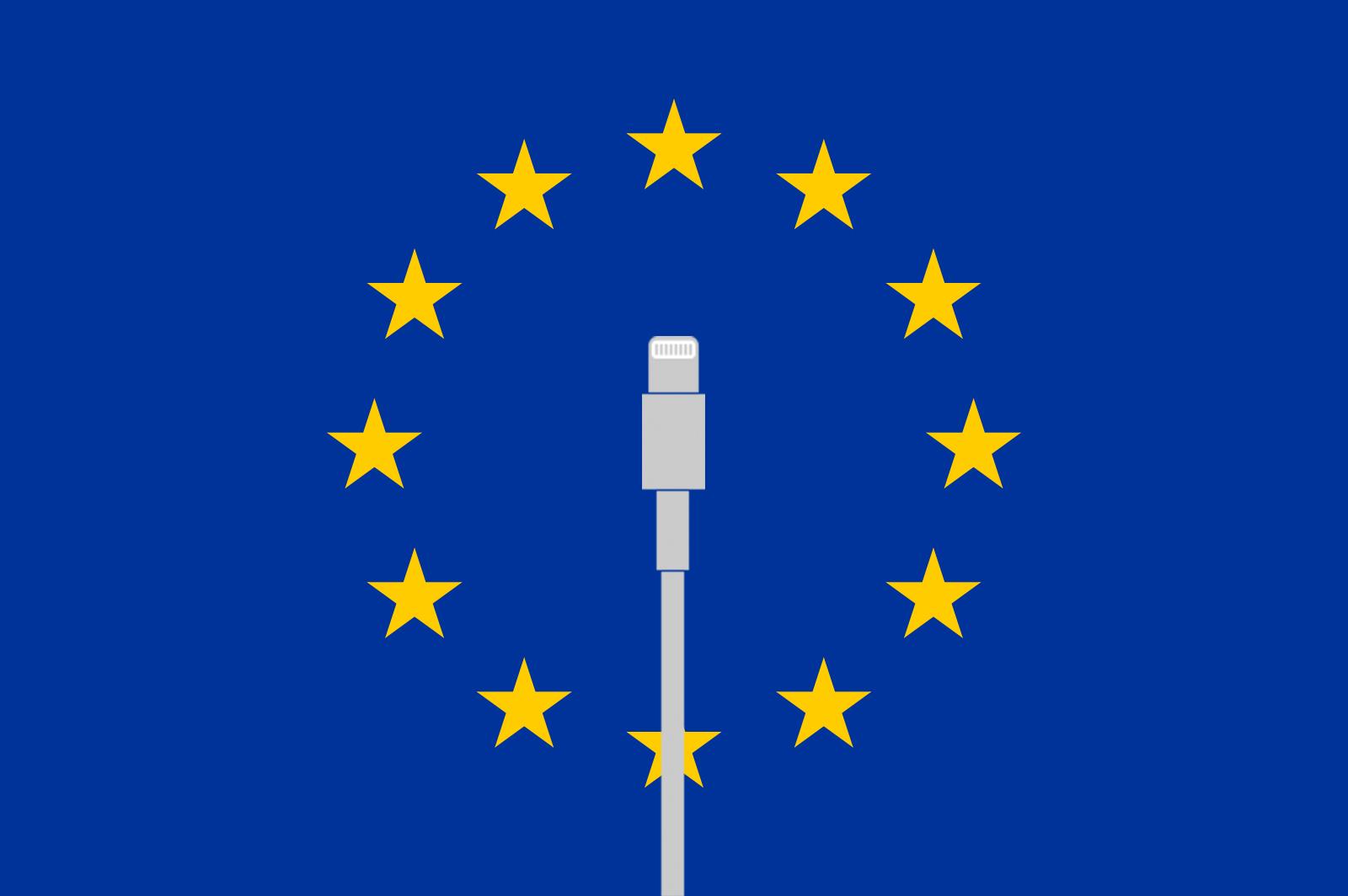 EU kan tvinge Apple til å droppe Lightning-port