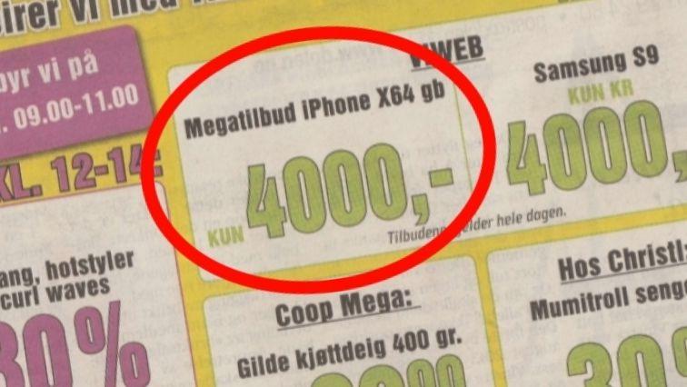 Viweb nekter å svare - kunde venter fremdeles på sin iPhone X til 5000 kroner