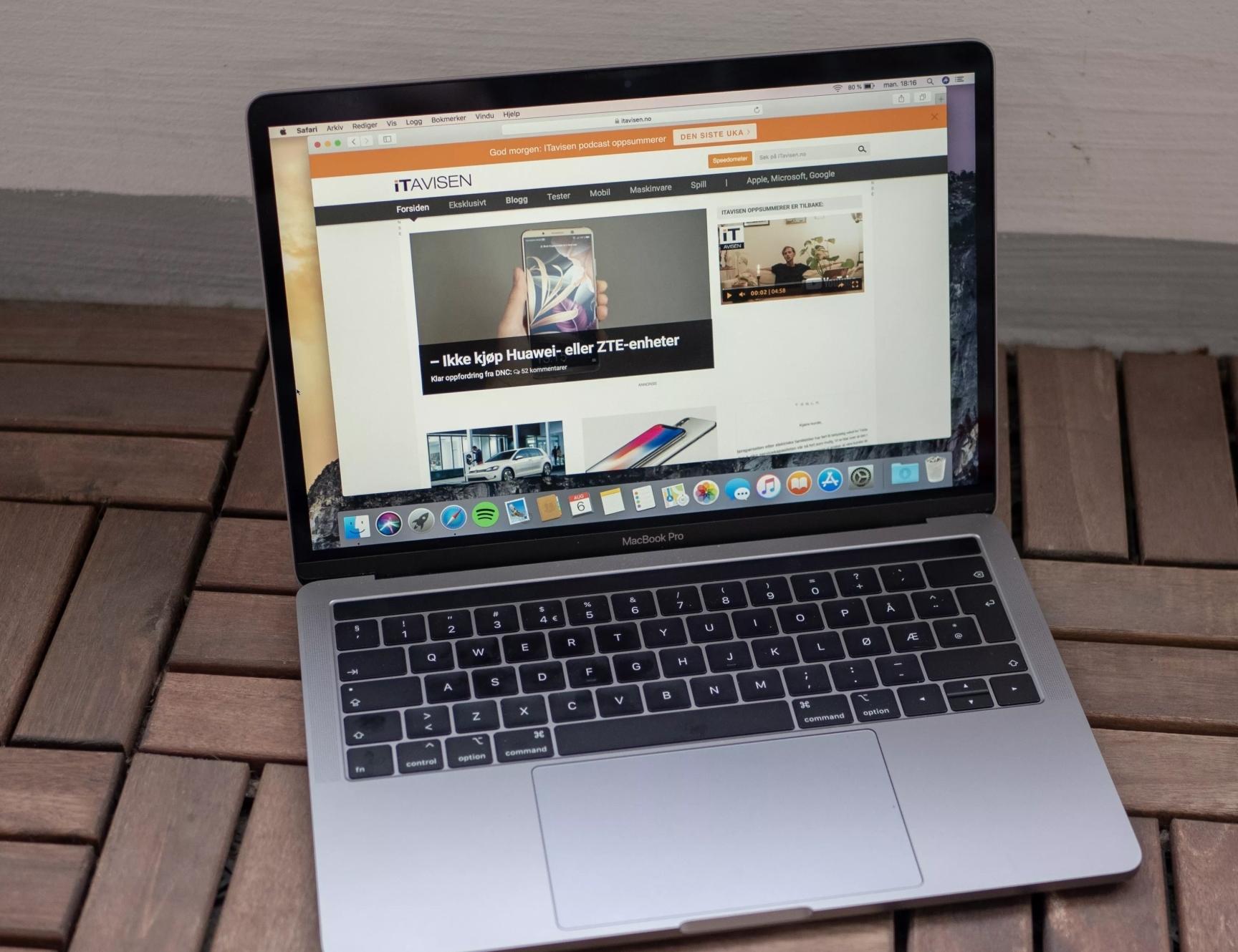 Apple har lansert oppdatering kun for eiere av nye MacBook Pro