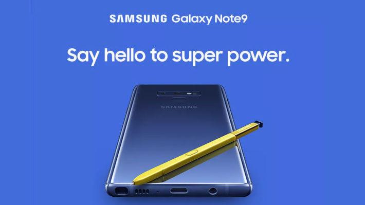 Samsung lekket bilde av Galaxy Note 9