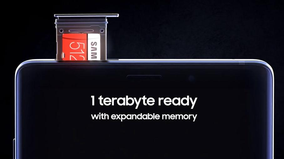 Samsung Galaxy Note 9 får 1 TB lagringsplass!