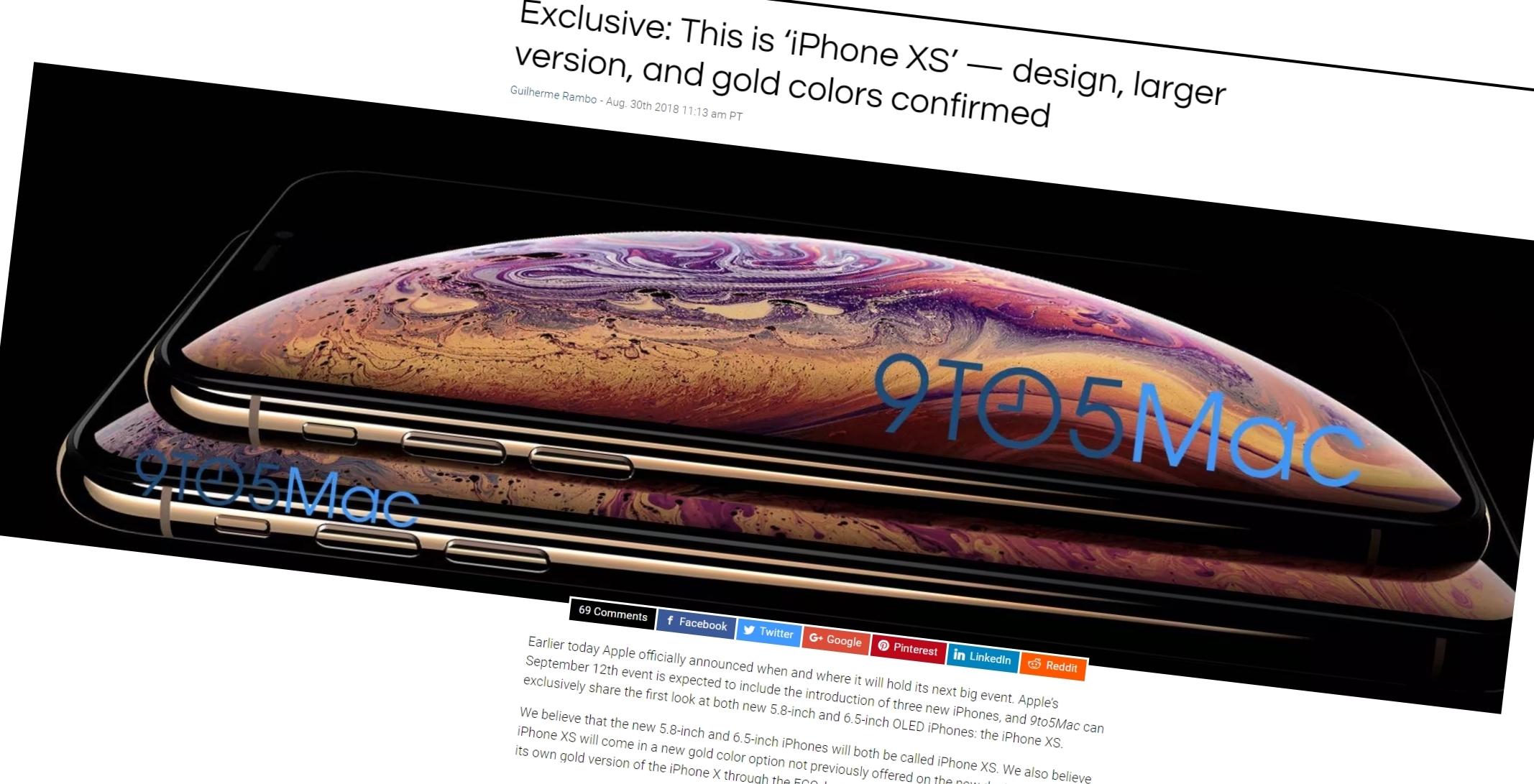 iPhone Xs Max vil kanskje koste over 14 000 kroner