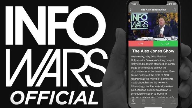 Alex Jones er mer populær enn CNN på iPhone
