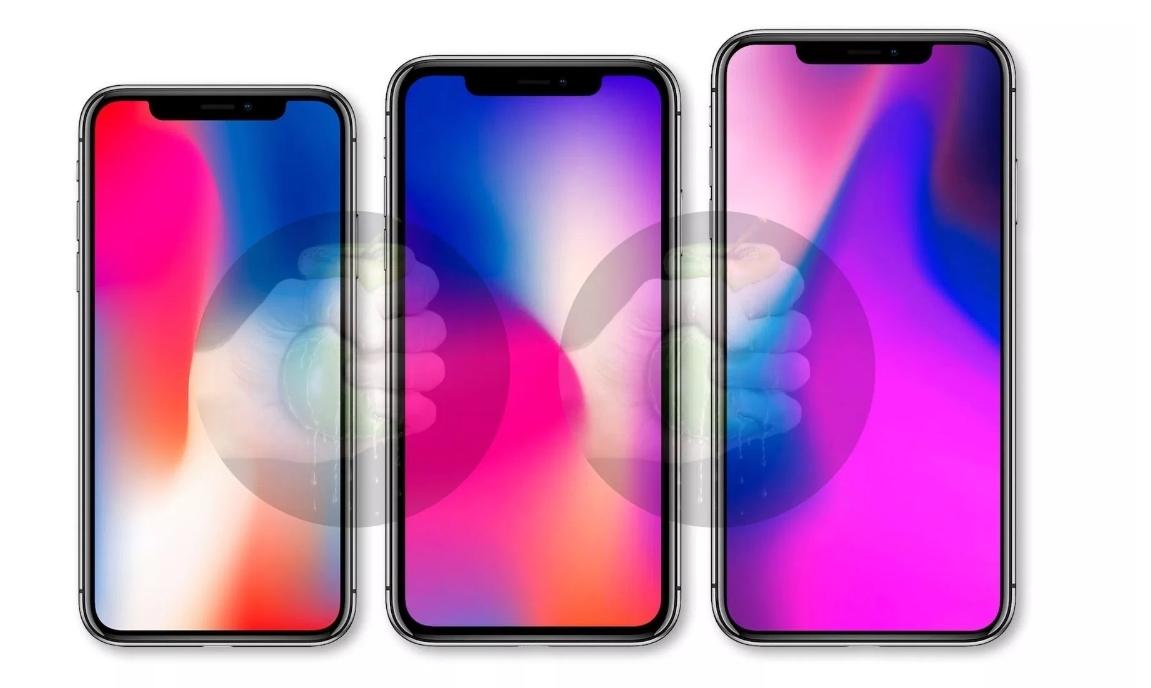 """- Apple vurderte å kalle årets modell """"iPhone Xs""""."""