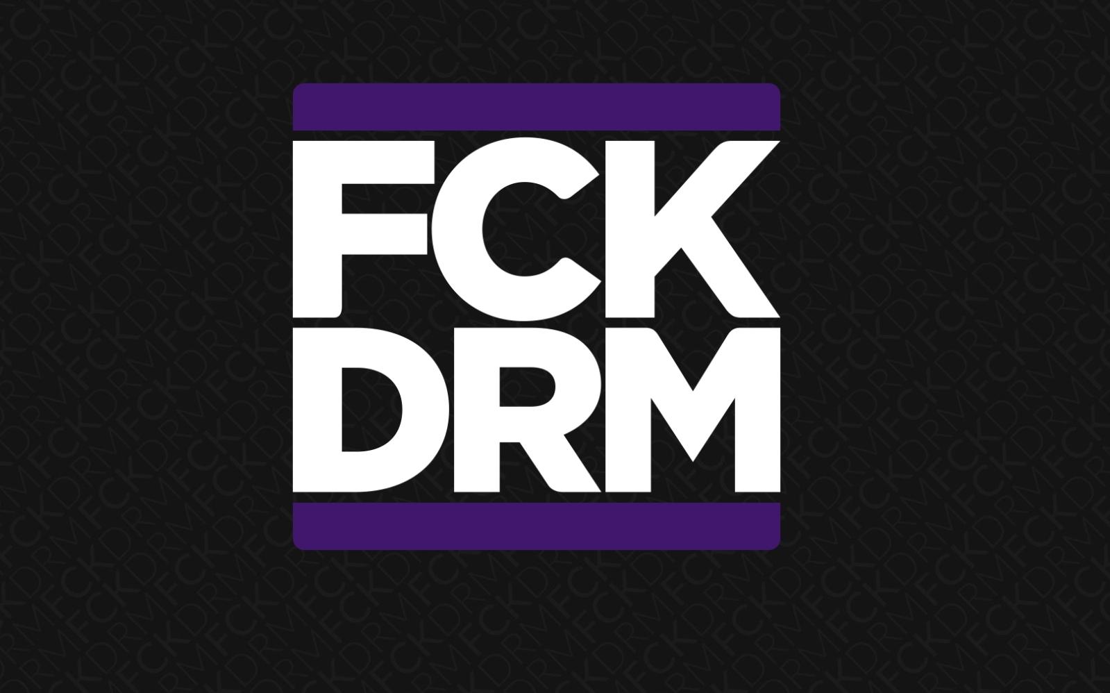 Gir fingeren til DRM med FCKDRM-kampanje