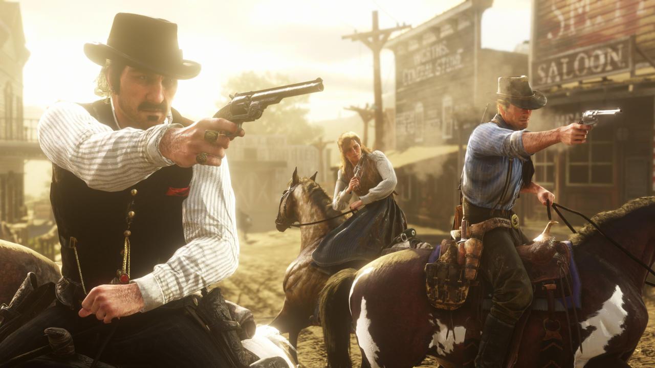 """""""Red Dead Redemption 2"""" krever ekstreme 105 GB lagringsplass."""