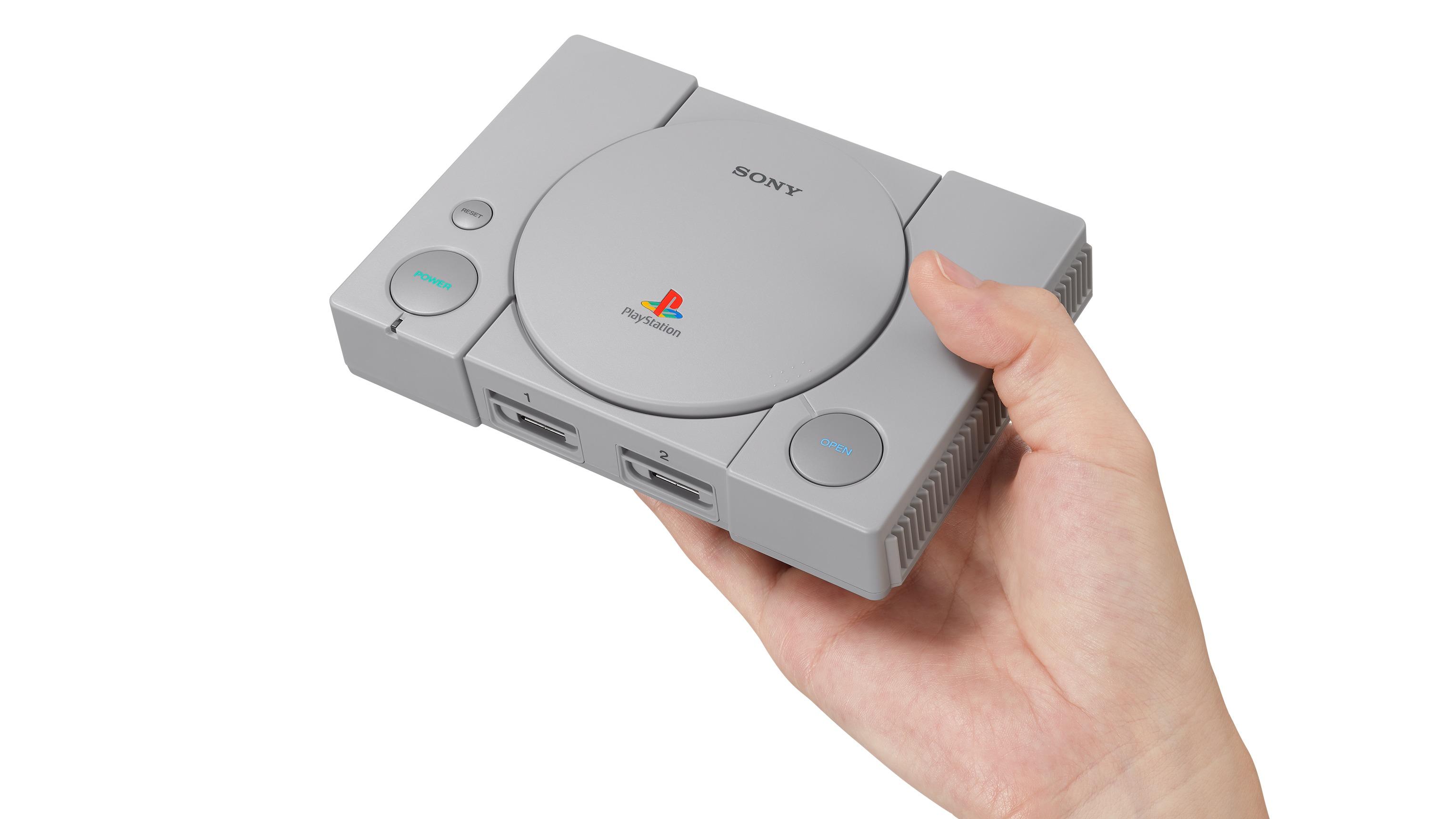 """Sony gjør som Nintendo - lanserer """"PlayStation Classic""""."""