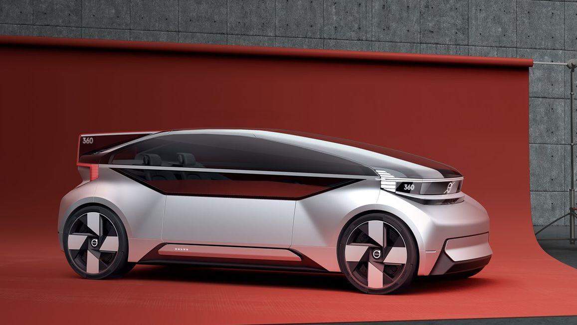 Sjekk ut Volvos nye autonome konseptbil