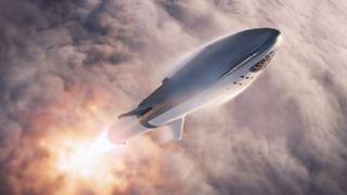Dette er Elon Musk-raketten som skal frakte mennesker ut i verdensrommet