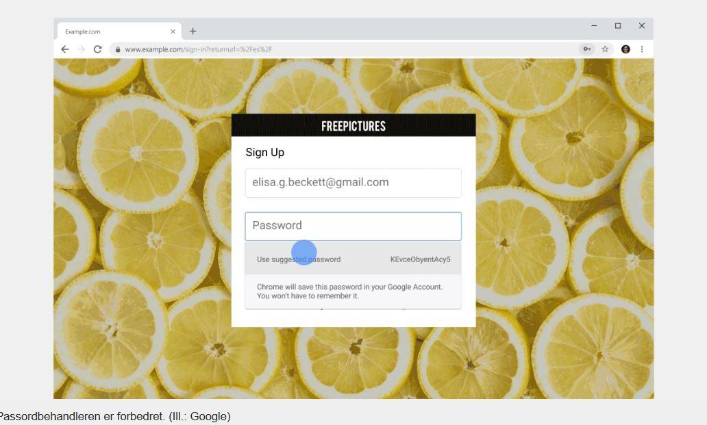 Nå gjør nye Chromes passordbehandler dette.