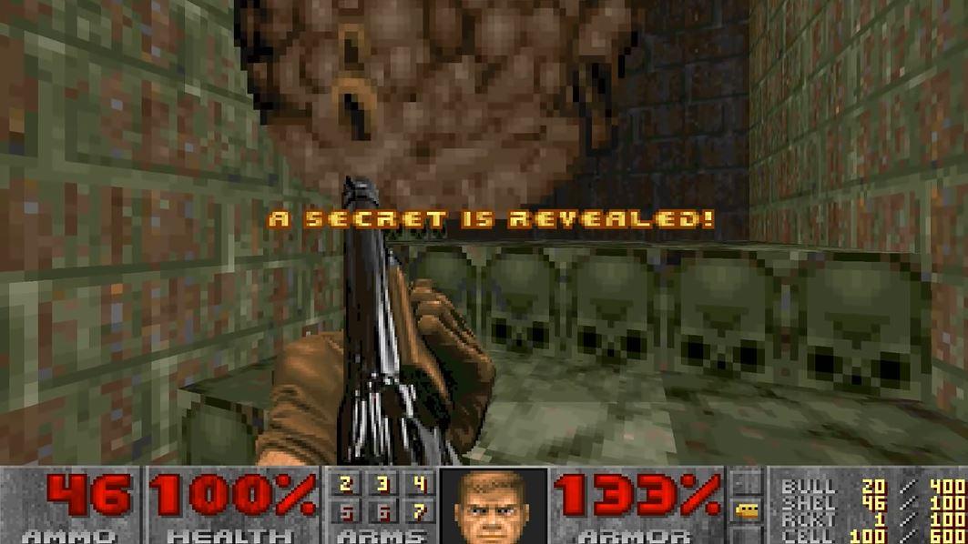 """Etter 24 år er den siste hemmeligheten i """"Doom 2"""" funnet."""