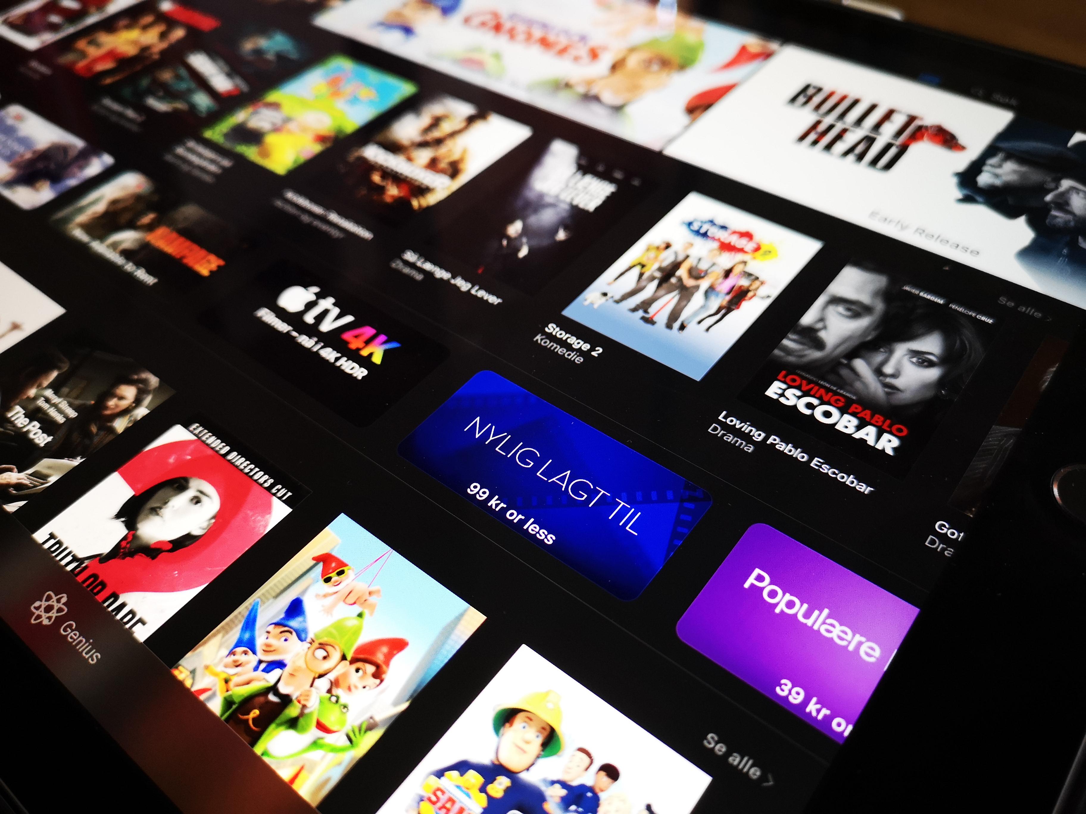 Nei, Apple sletter ikke filmer fra PC-en din