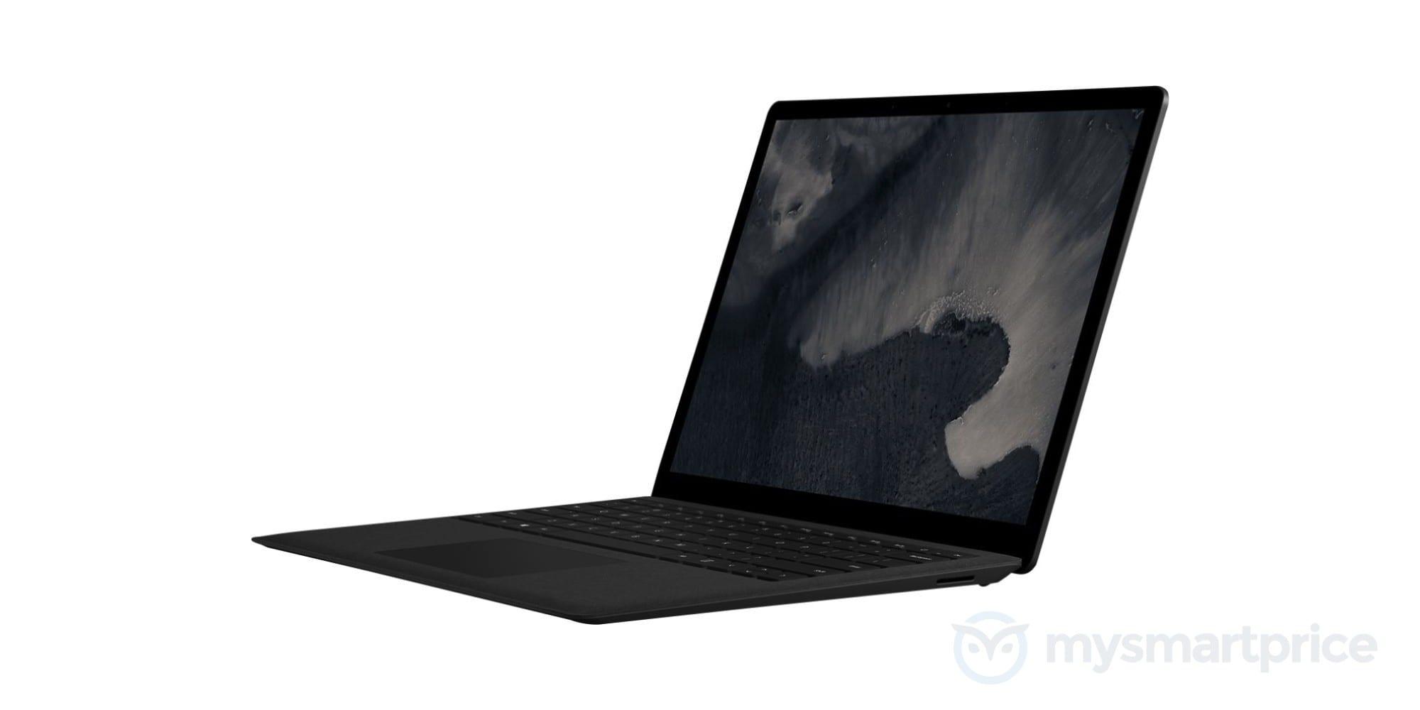Dette kan være Surface Laptop 2 - i svart.