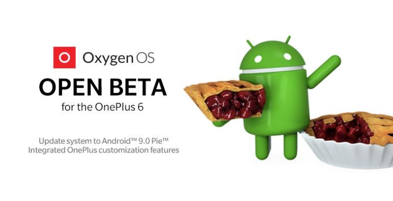 Har du OnePlus 6? Last ned Open Beta med Anroid Pie!
